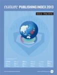 Nature Publishing Index 2013 Asia-Pacific